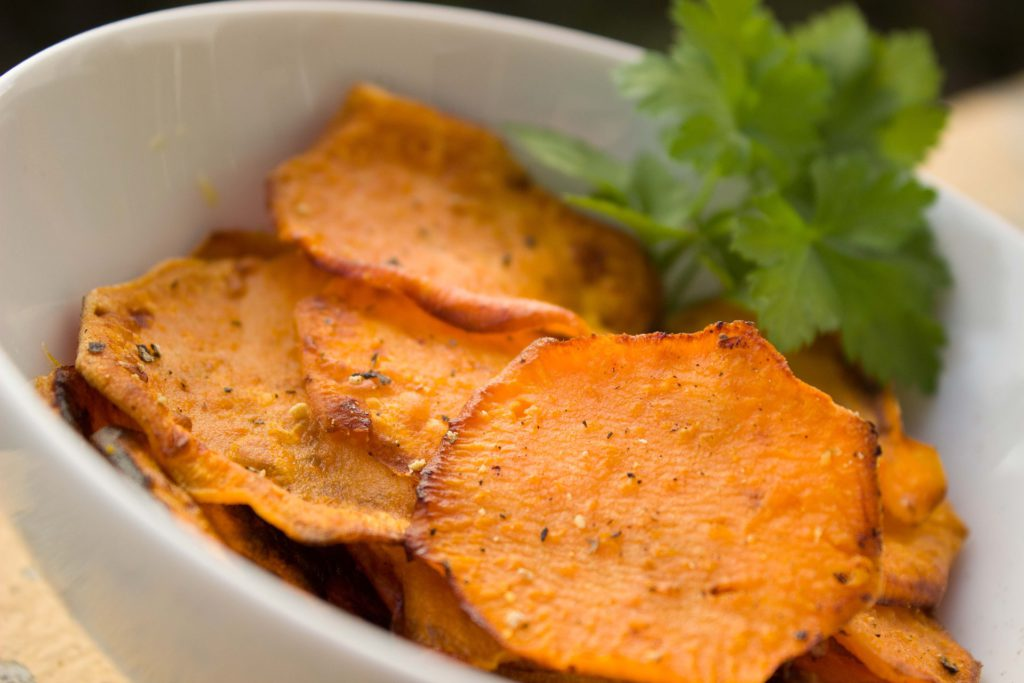 Süßkartoffel: Chips