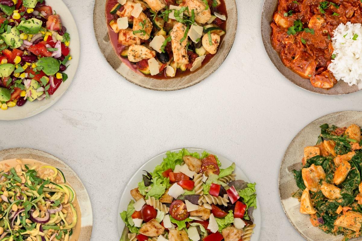 Leichte Küche: Gericht Übersicht