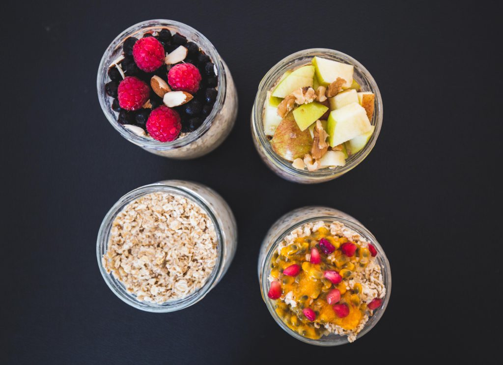Overnigth Oats: alle 4