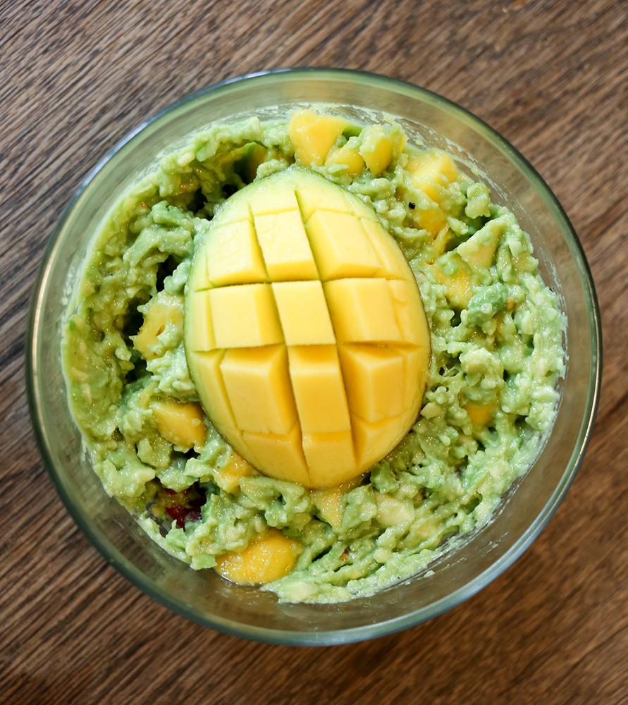 Guacamole mit Mango