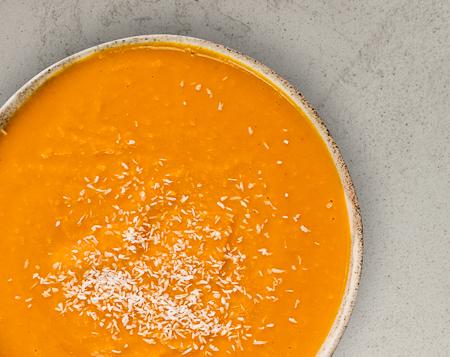 S4 Kürbis Suppe mit Kokos & Chilli