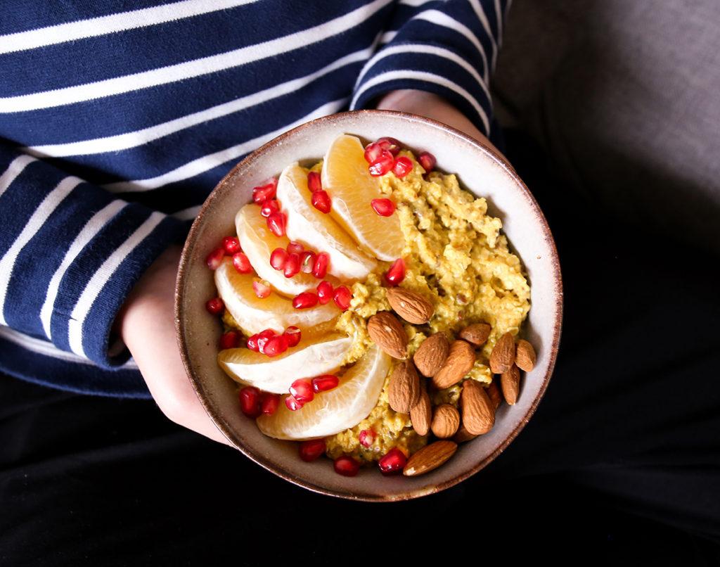 Weihnachtliches Porridge