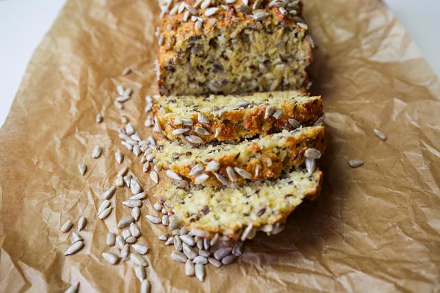 Sonnenblumenkerne: Low Carb Brot