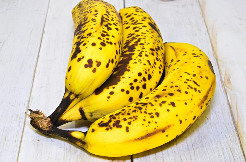 Reife Bananen fürs Brananabrot