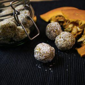 Gesunde Snacks: Kürbis-Energy-Balls