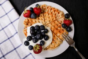 Gesunde Snacks: Chia-Waffeln