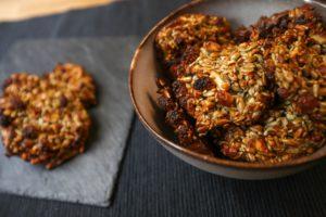 Gesunder Snack: Low-Carb-Cookies