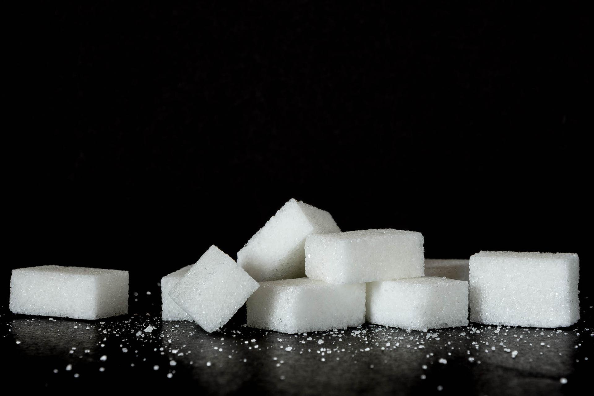 Zucker: Zuckerwürfel
