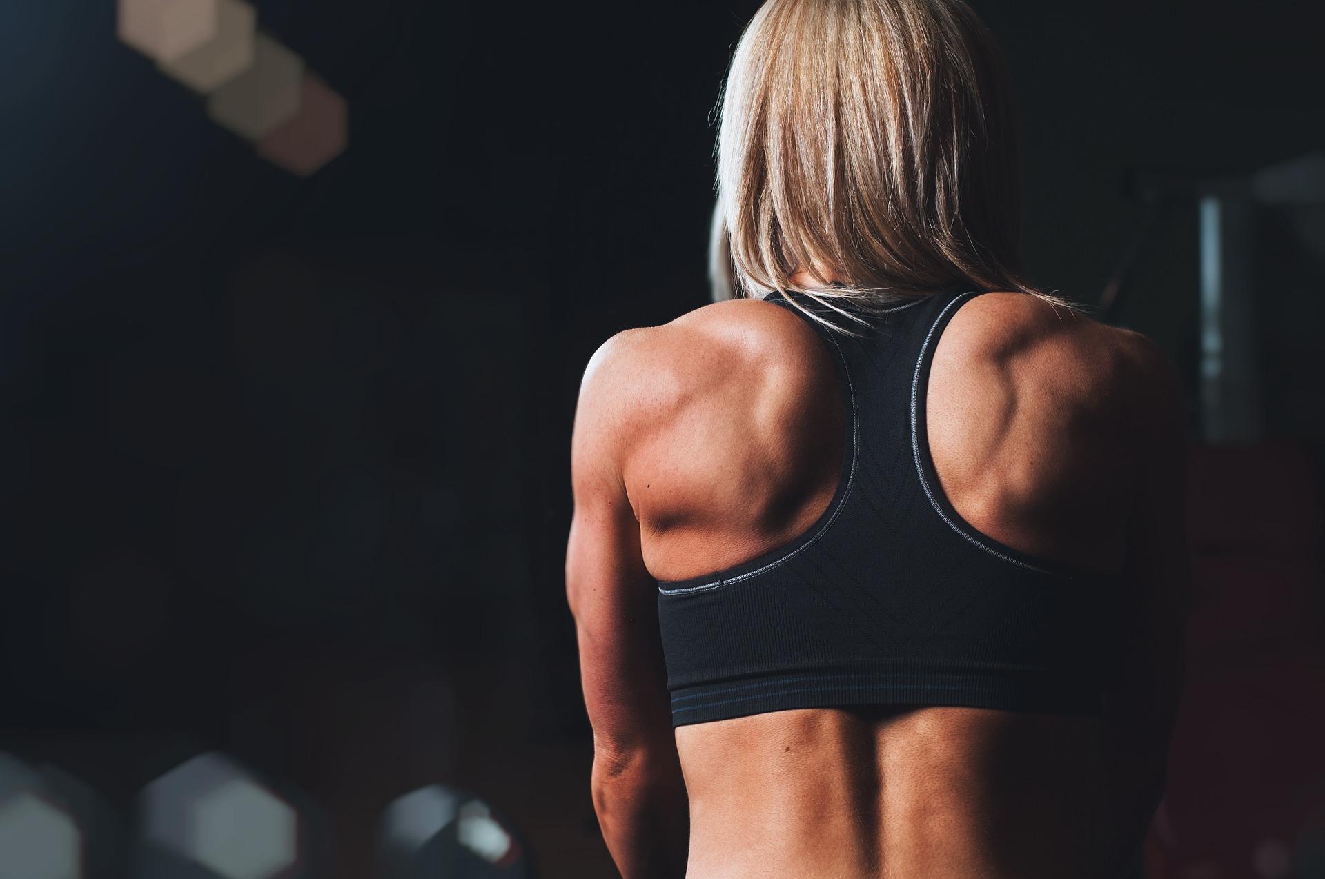 Fettverbrennung: Rücken