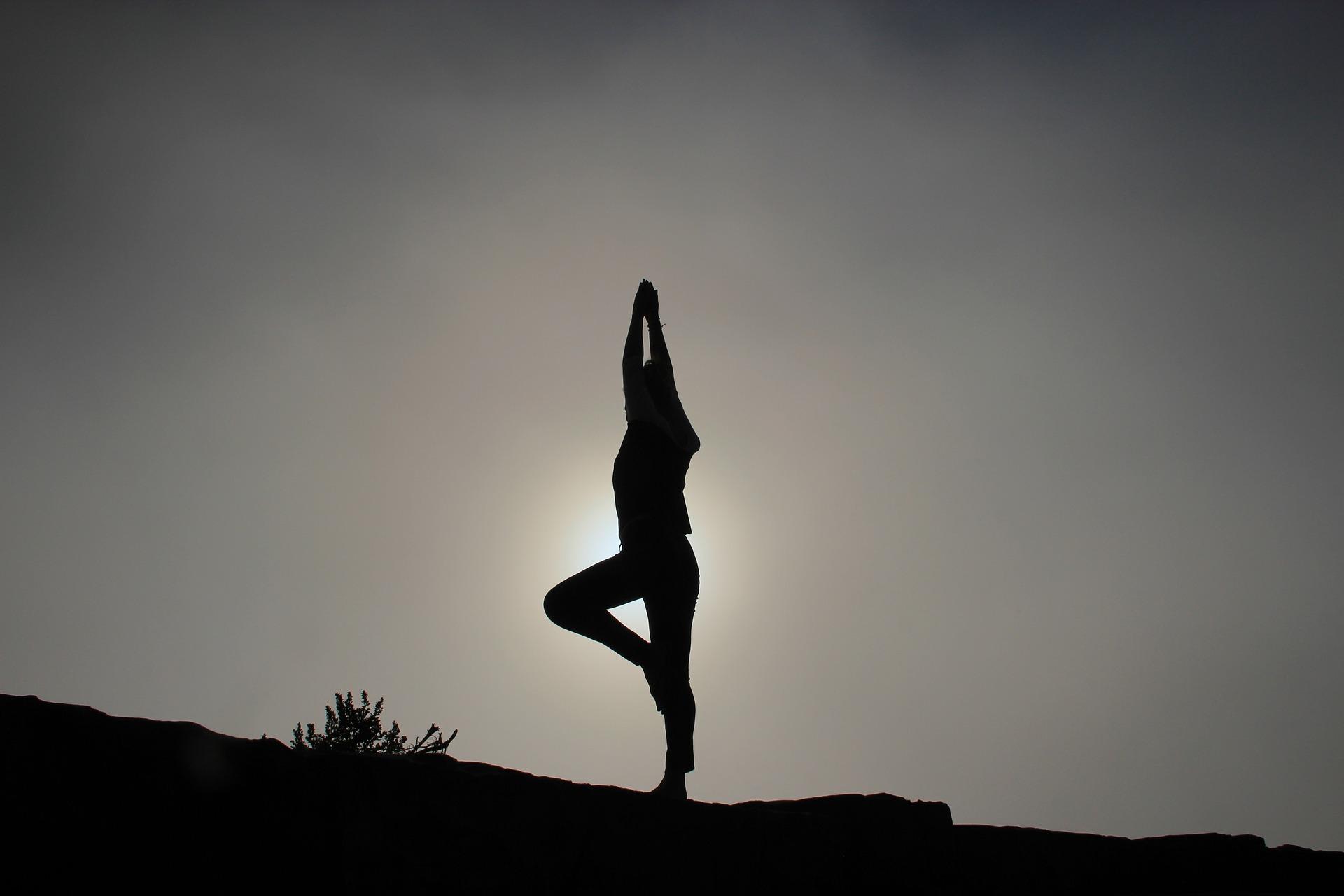 Körperhaltung: Yoga