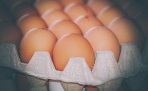 gesundes Rührei: Eierpalette