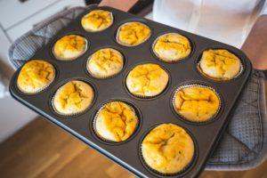 Magerquark: herzhafte Muffins
