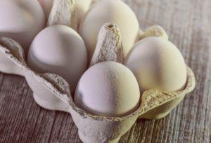 Quarkauflauf: Eier