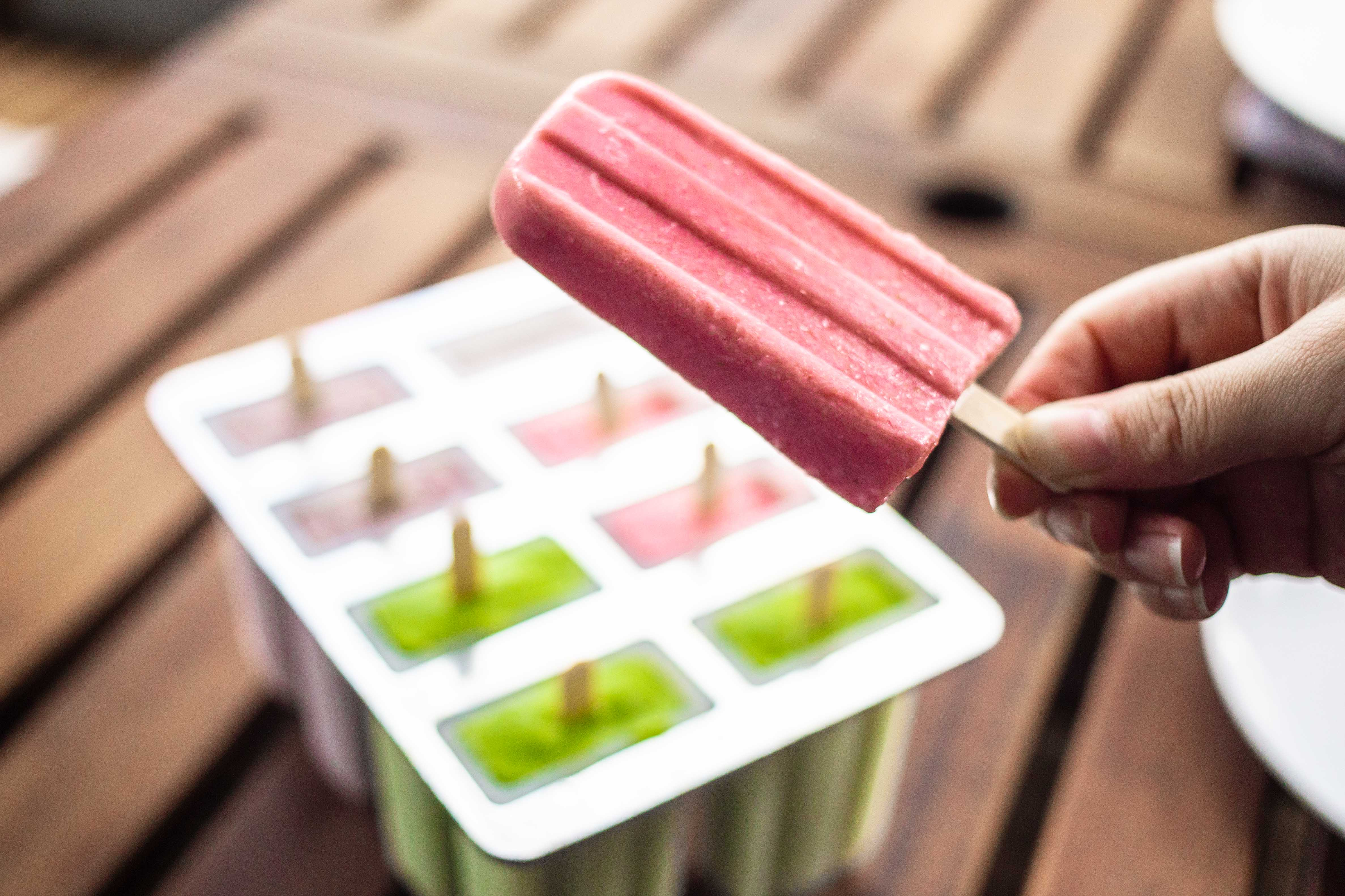 Smoothie Popsicles