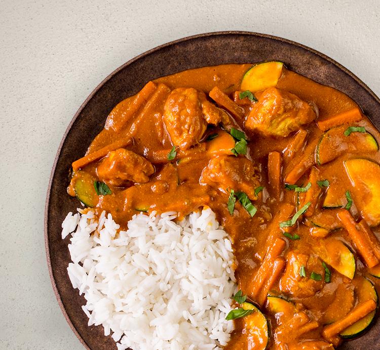 HM2 Tandoori Curry mit Reis