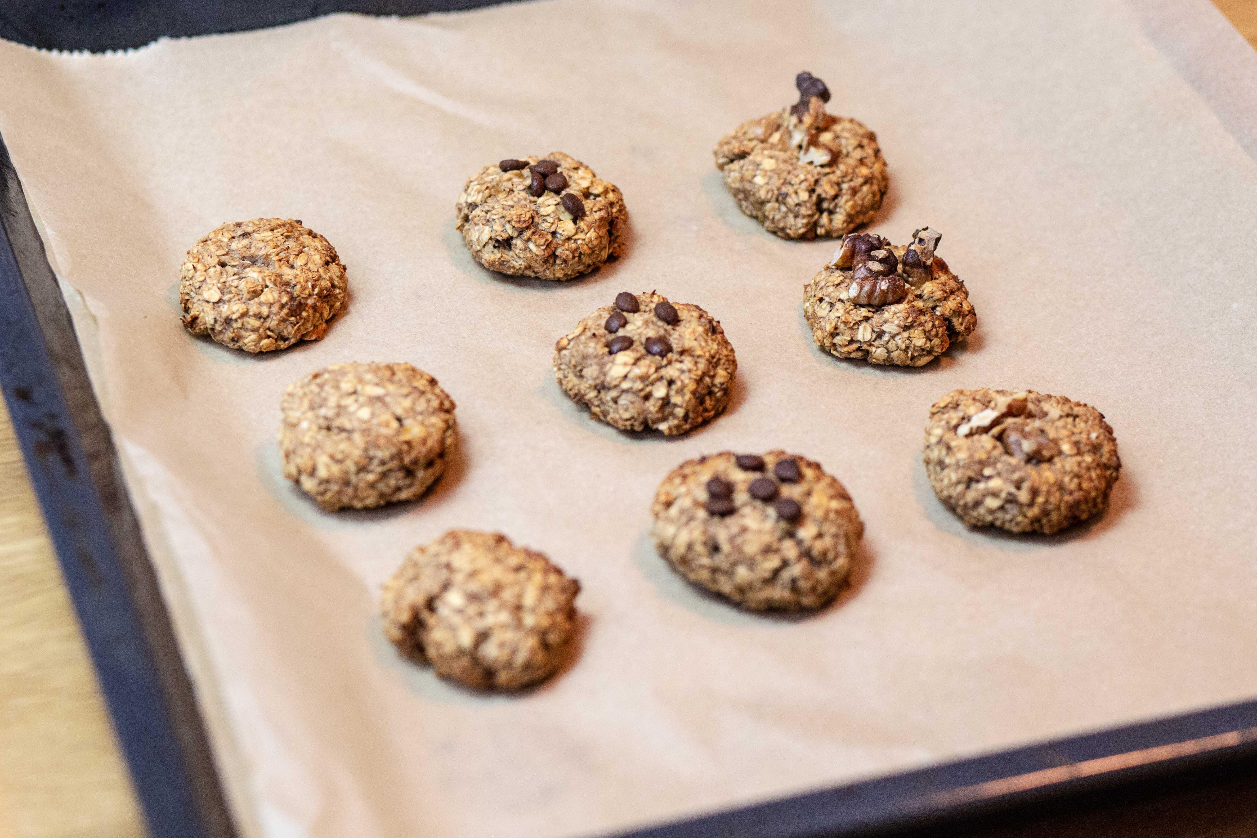Oatmeal Cookies Blech