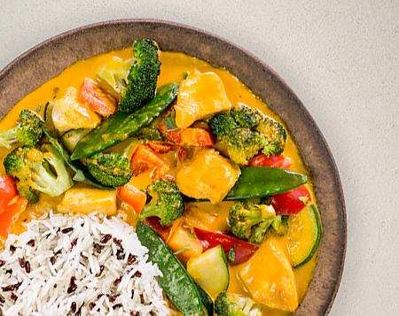 P1 Thai Curry mit Reis