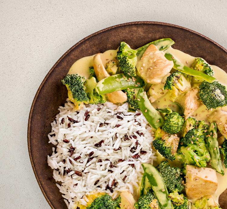 P17 Zitronengras Curry mit Reis