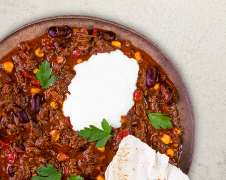 P23 Pulled Beef Chili