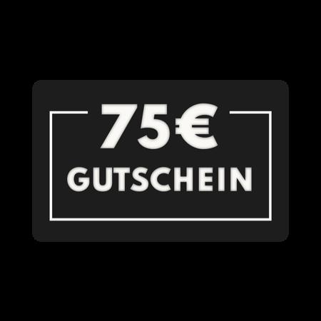 75€ Geschenkgutschein