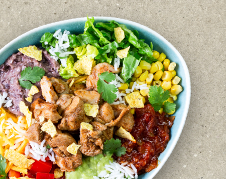 Burrito Bowl Lime Chicken Slap