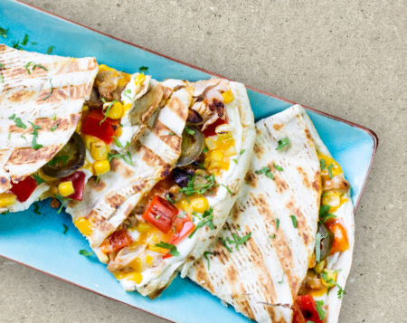 Quesadilla Lime Chicken Slap