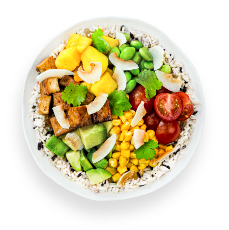 Summer Tofu Bowl