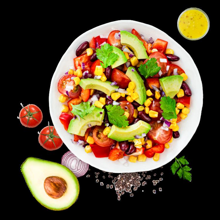 Avocado Power Salad