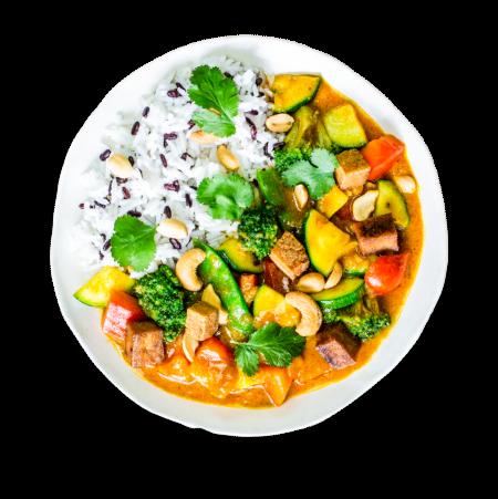 Yellow Thai Tofu Curry