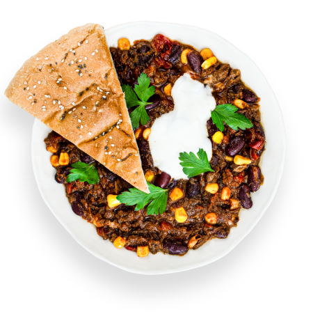 Pulled Beef Chili