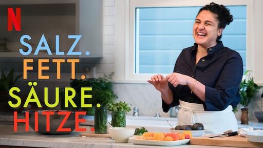 Titelbild der Food-Serie: Salz. Fett. Säure. Hitze.