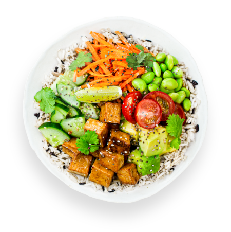 Japanese Tofu Bowl