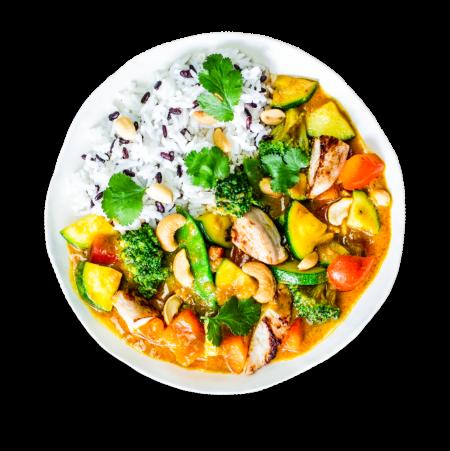 Yellow Thai Chicken Curry